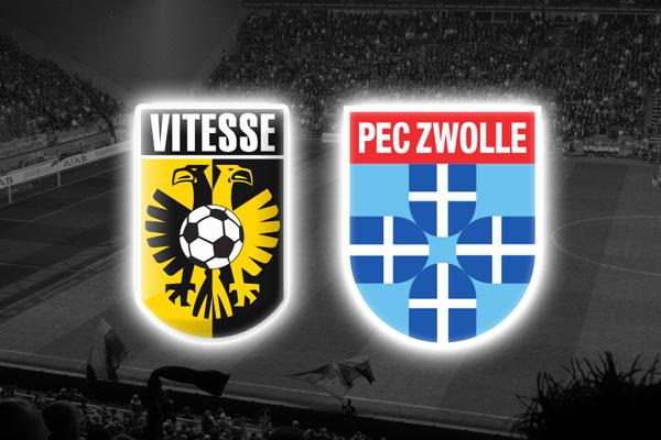 PEC Zwolle vs Vitesse en Vivo – Eredivisie 2015