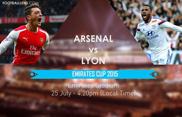 Arsenal vs Lyon en Vivo – Emirates Cup 2015