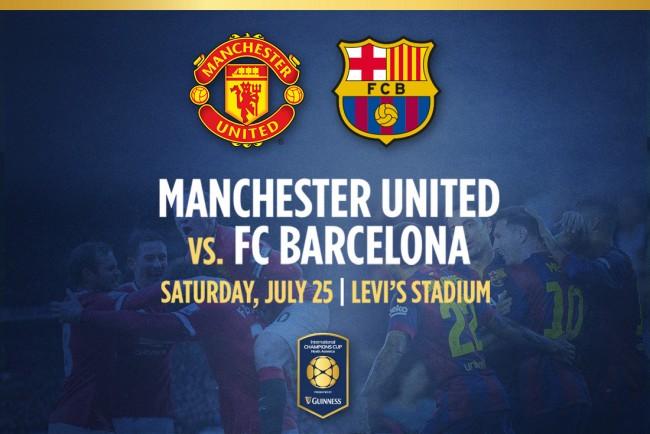 Barcelona vs Manchester United en Vivo – International Champions Cup 2015