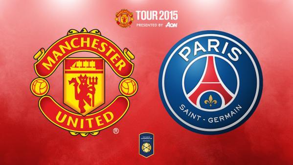 Manchester United vs PSG en Vivo – International Champions Cup 2015