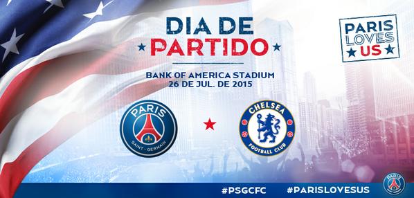PSG vs Chelsea en Vivo – International Champions Cup 2015