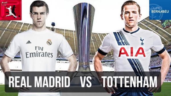 Partido en Vivo Real Madrid vs Tottenham – Audi Cup 2015