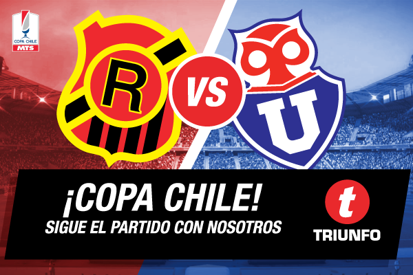 Universidad de Chile vs Rangers en Vivo – Copa Chile 2015