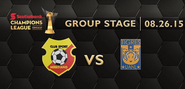Herediano vs Tigres Fox Sports en Vivo – Concachampions 2015