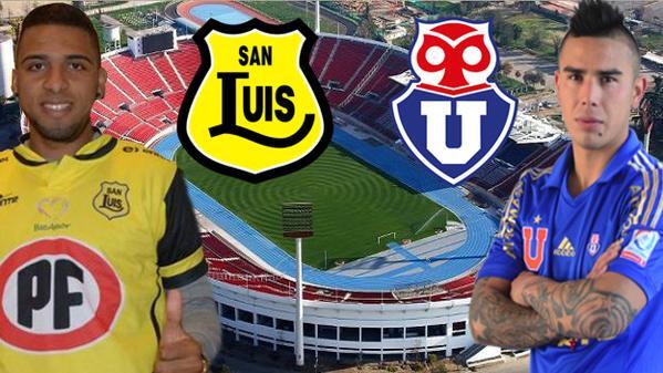 U de Chile vs San Luis en Vivo – Apertura Chile 2015