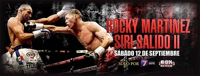 """Resultado """"Rocky"""" Martínez vs Orlando """"Siri"""" Salido en Vivo – Boxeo 2015"""