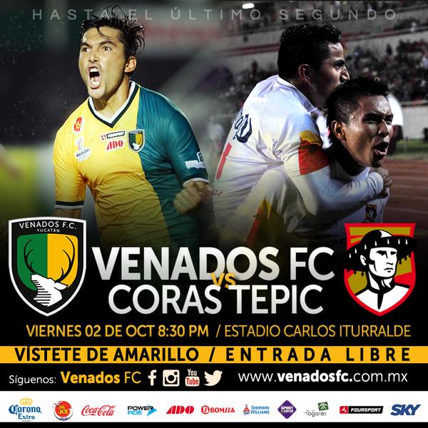 Venados vs Coras Tepic en Vivo SKY - Ascenso MX 2015
