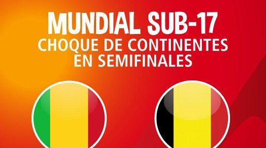 Mali vs Bélgica en Vivo Semifinal – Mundial Sub 17 2015