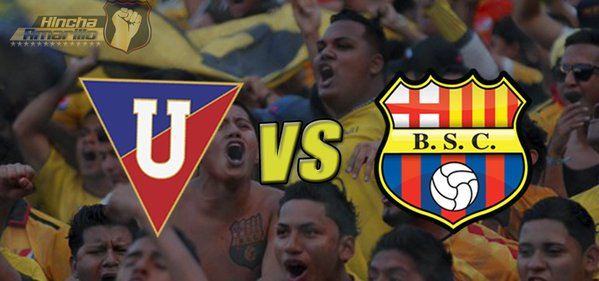 LDU Quito vs Barcelona TV en Vivo Serie A Ecuador 2016