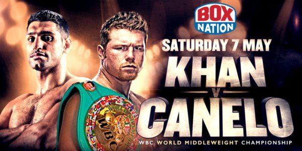 Ver Canelo Álvarez vs Amir Khan en Vivo Boxeo 2016