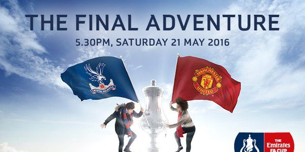 Ver Crystal Palace vs Manchester United en Vivo Final FA Cup 2016