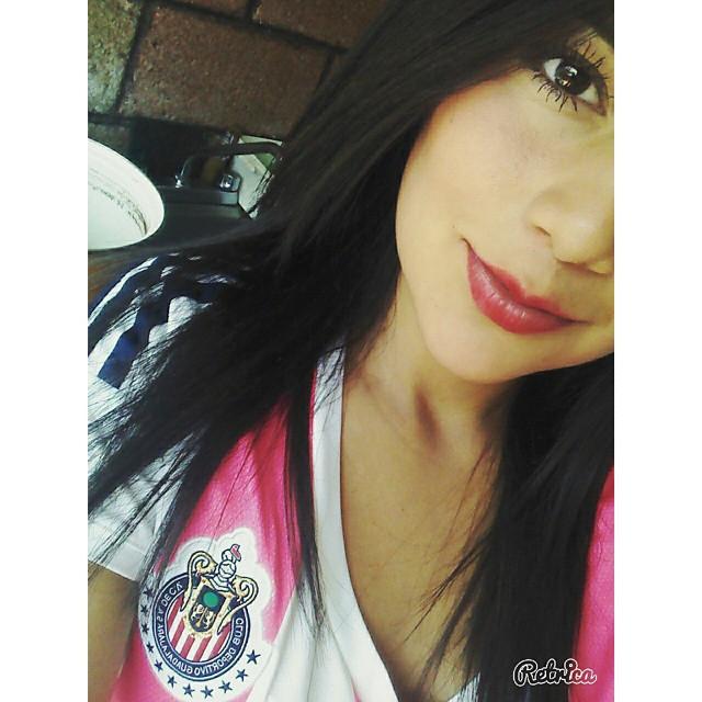 Paola Maldonado encantadora seguidora de Chivas