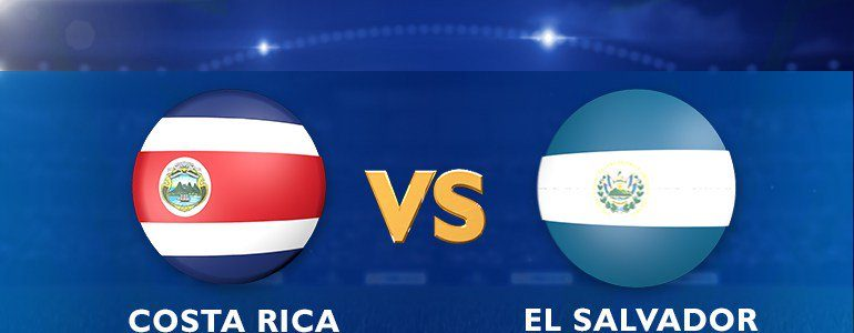 TV Costa Rica vs El Salvador en Vivo Copa Centroamericana 2017