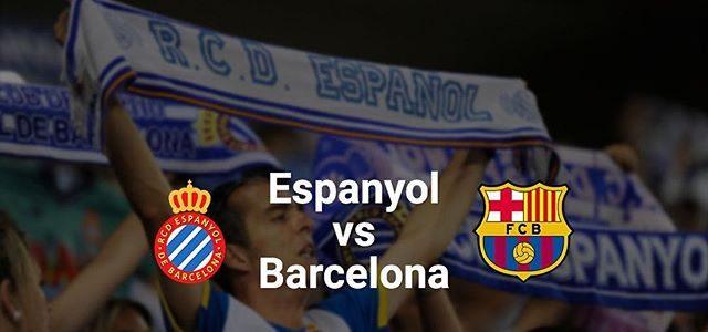 Espanyol vs Barcelona en Vivo por Internet La Liga 2017