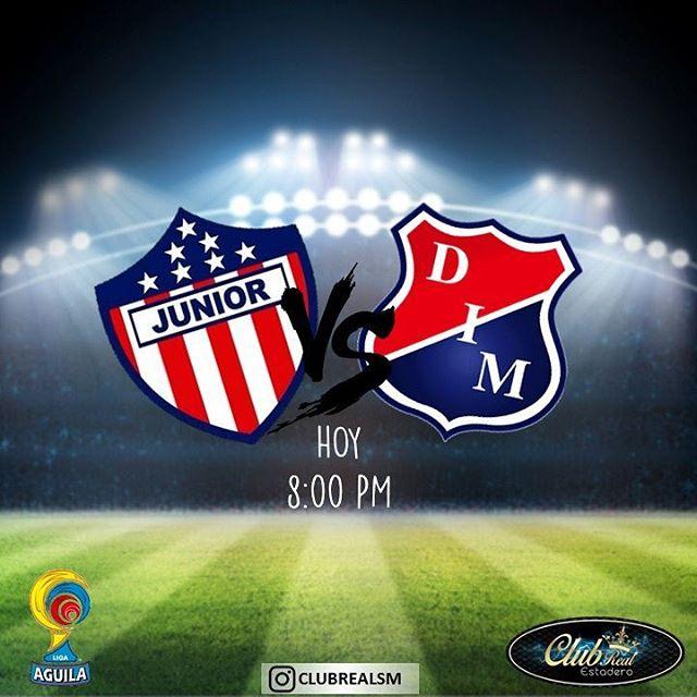 Junior vs Medellín en Vivo por Internet Liga Águila 2017