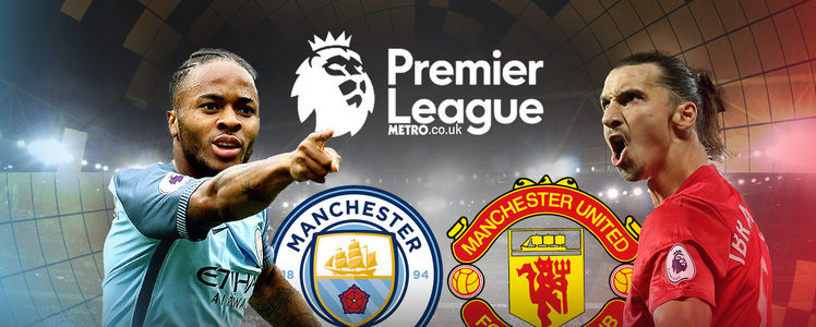 Man City vs Manchester United en Vivo Online Premier League 2017