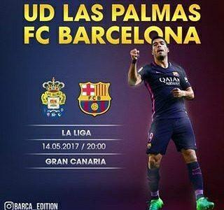 Las Palmas vs Barcelona en Vivo por Internet La Liga 2017