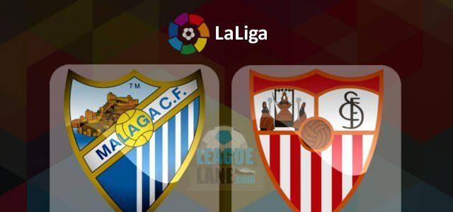 Málaga vs Sevilla en Vivo Online La Liga 2017