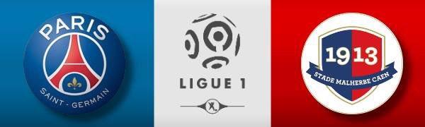 PSG vs Caen en Vivo por Internet Ligue 1 2017
