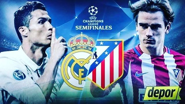 Ver Real Madrid vs Atlético Madrid en Vivo Hoy Champions League 2017