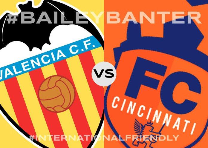 Cincinnati vs Valencia en Vivo por Internet Amistoso 2017