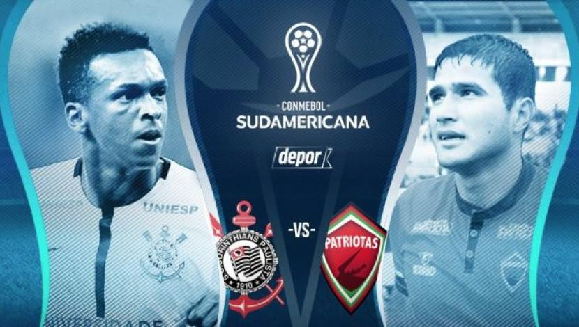 Corinthians vs Patriotas en Vivo Fox Sports Copa Sudamericana 2017