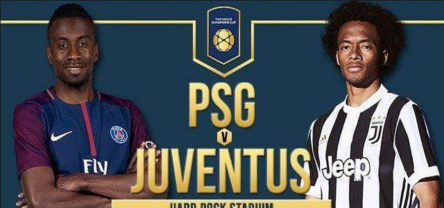 PSG vs Juventus en Vivo ESPN International Champions Cup 2017