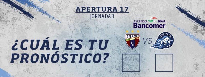 Atlante vs Celaya en Vivo Online Ascenso MX 2017