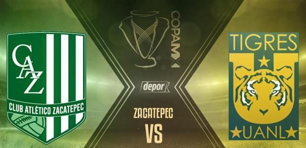Zacatepec vs Tigres en Vivo por Internet Copa MX 2017