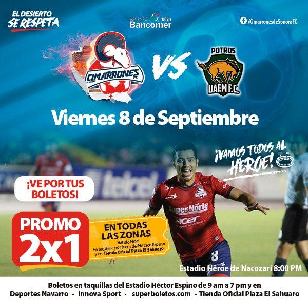 Cimarrones vs Potros UAEM en Vivo Online Ascenso MX 2017