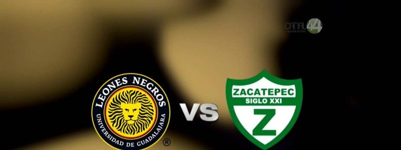Zacatepec vs Leones Negros en Vivo en el Ascenso MX 2017