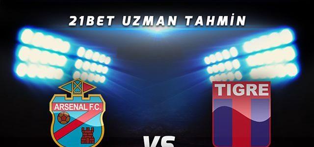 Arsenal Sarandí vs Tigre en Vivo TYC Sports Superliga Argentina 2017