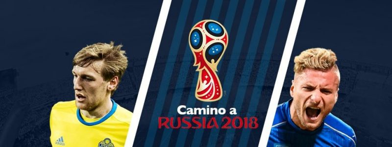 En vivo Suecia vs Italia Clasificación Rusia 2018