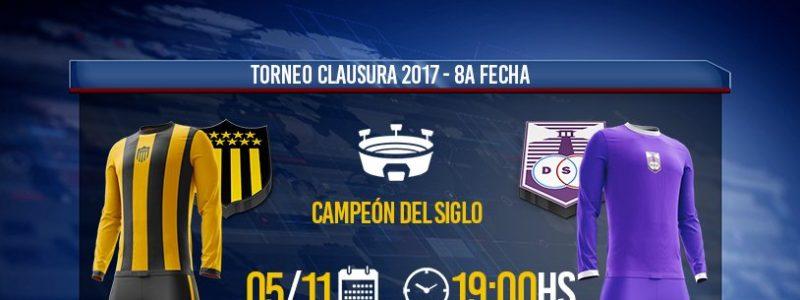 Peñarol vs Defensor Sporting en Vivo Fútbol Uruguay 2017