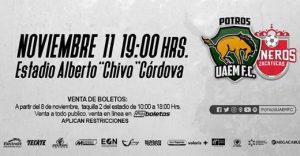 Potros UAEM vs Mineros en Vivo Online Ascenso MX 2017