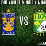 Vuelta Tigres vs León en Vivo Liga MX 2017