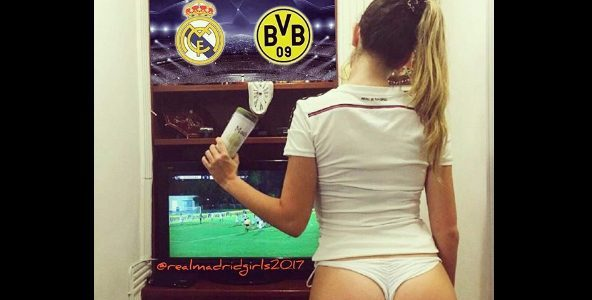 Champions League Real Madrid vs Borussia Dortmund 2017 Televisa