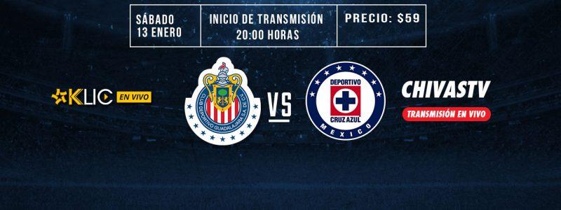 Chivas vs Cruz Azul en Vivo por TDN y Blim 2018