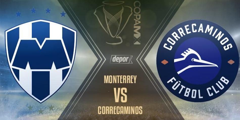 Copa MX Monterrey vs Correcaminos en Vivo Copa MX 2018