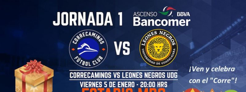 Correcaminos vs Leones Negros en Vivo 2018 Ascenso MX