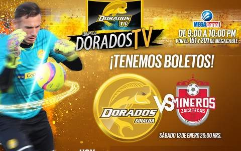 Dorados vs Mineros en Vivo 2018 Ascenso MX