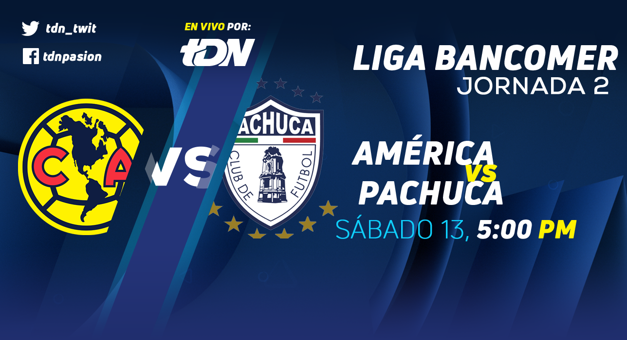 En que canal juega América vs Pachuca en Vivo Liga MX 2018