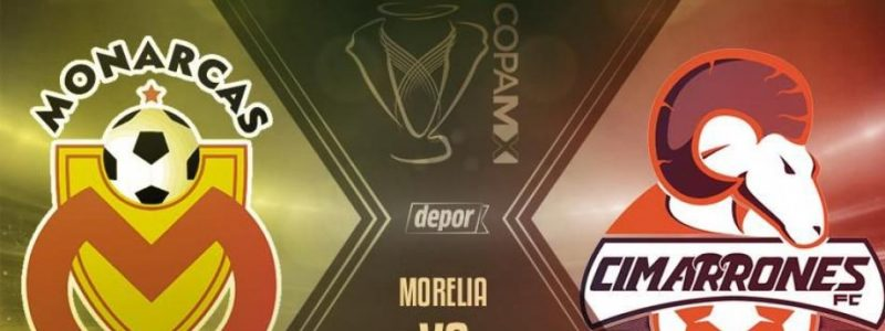 En Vivo Morelia vs Cimarrones 2018 Copa MX