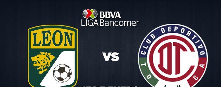 León vs Toluca en Vivo Fox Sports Liga MX 2018