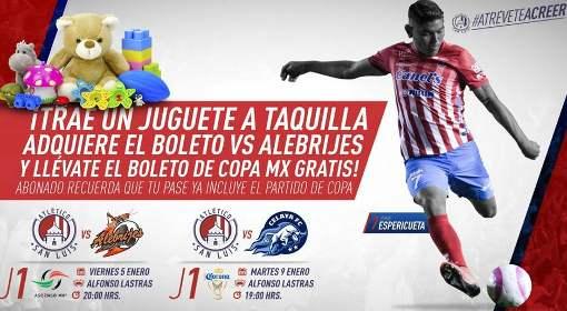 Ver Atlético San Luis vs Alebrijes en Vivo 2018 Ascenso MX