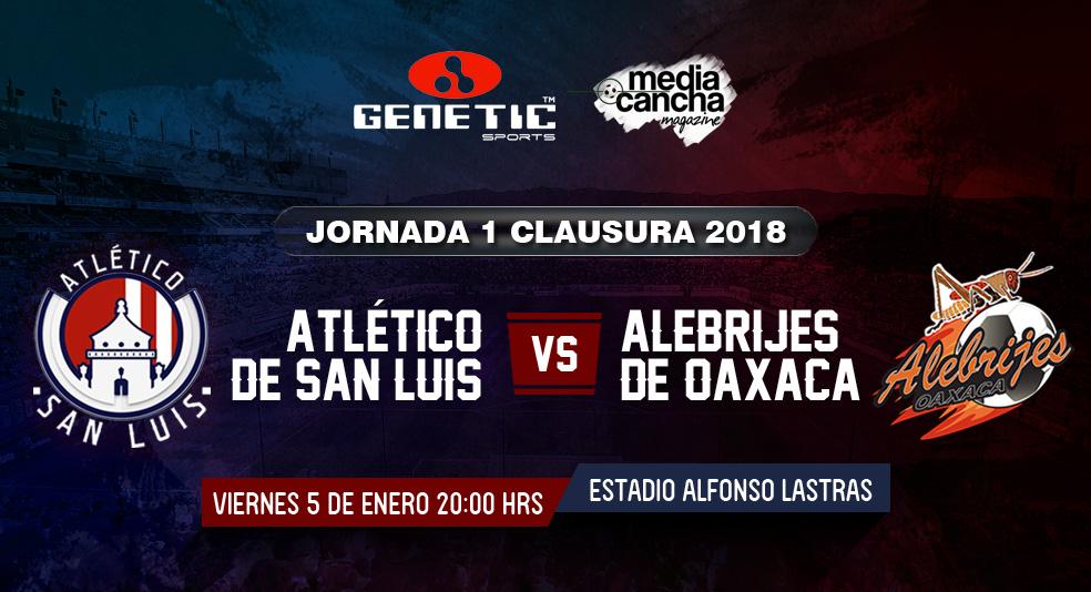 Ver Atlético San Luis vs Alebrijes en Vivo 2018 previo Atlético San Luis Leones Negros