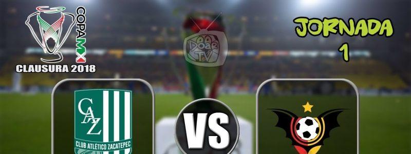 Zacatepec vs Murciélagos Online Copa MX 2018 en Vivo