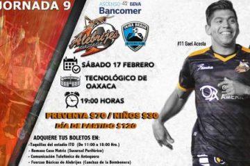 Alebrijes vs Tampico Madero en Vivo Ascenso MX 2018