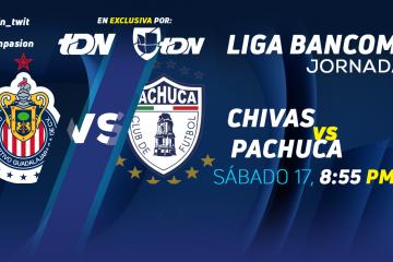Chivas vs Pachuca en Vivo Liga MX 2018