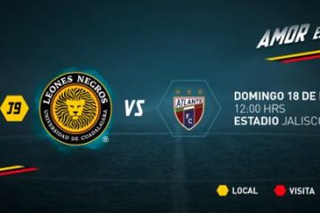 Leones Negros vs Atlante en Vivo Online Ascenso MX 2018